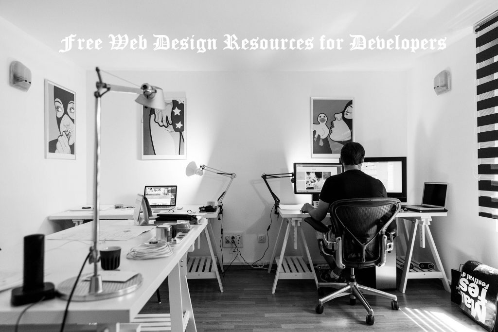 A great List of Free Web Design Resources for Developers